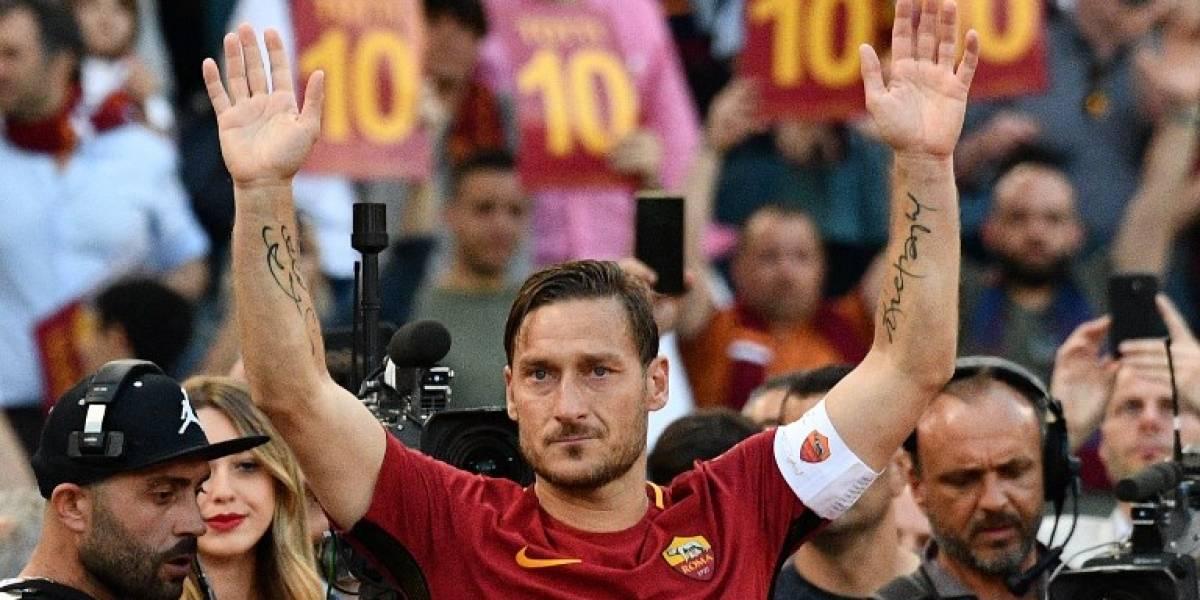 ¡Arrivederci, Totti! El adiós a la leyenda de la Roma