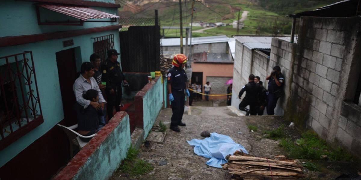 Asesinan a balazos a vendedor de leña en Chinautla, zona 6