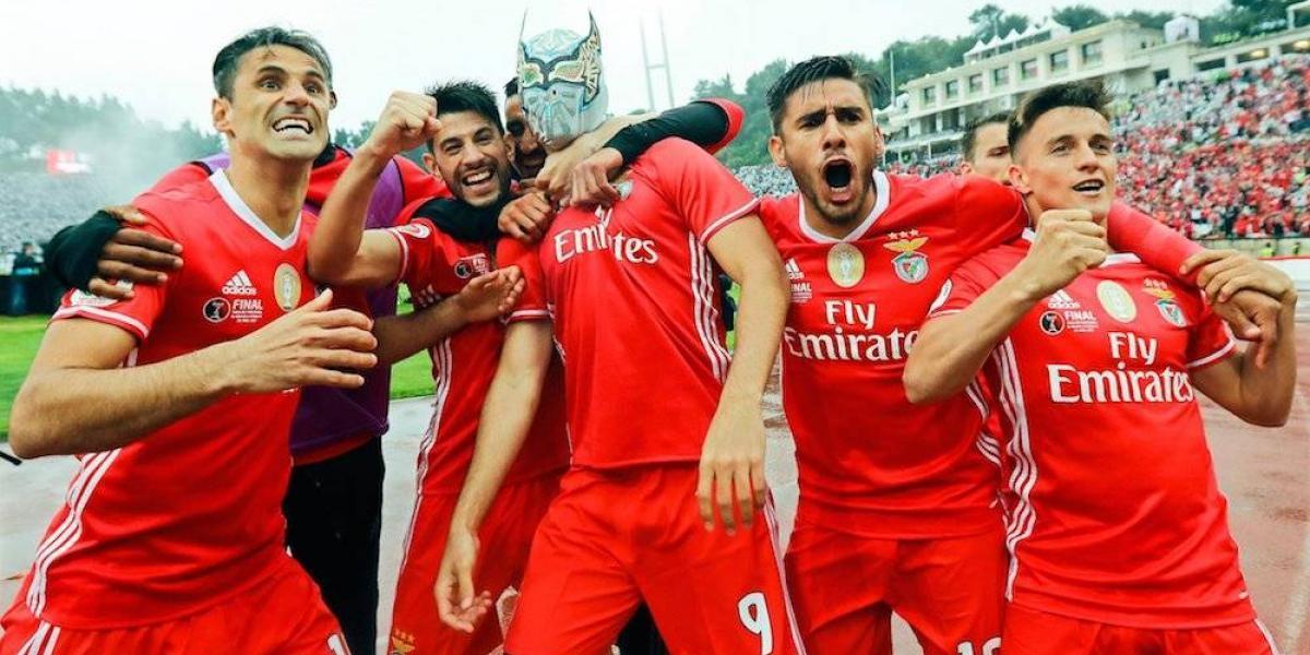 Benfica gana la Copa de Portugal con anotación y peculiar festejo de Raúl Jiménez