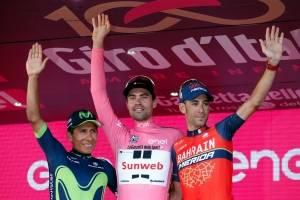 Dumoulin gana el Giro de Italia; Colombia sube al podio