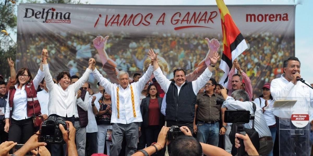 Respetaré los resultados electorales en Edomex: Delfina Gómez