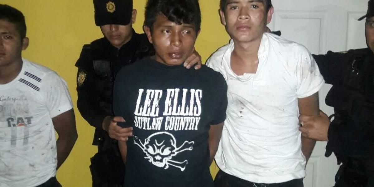 Detenidos por el crimen de un vecino en Coatepeque
