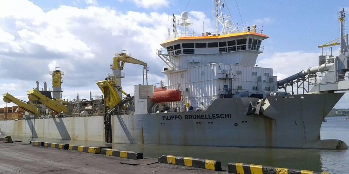 Finaliza dragado del muelle 13 de Buenaventura para fortalecer comercio exterior