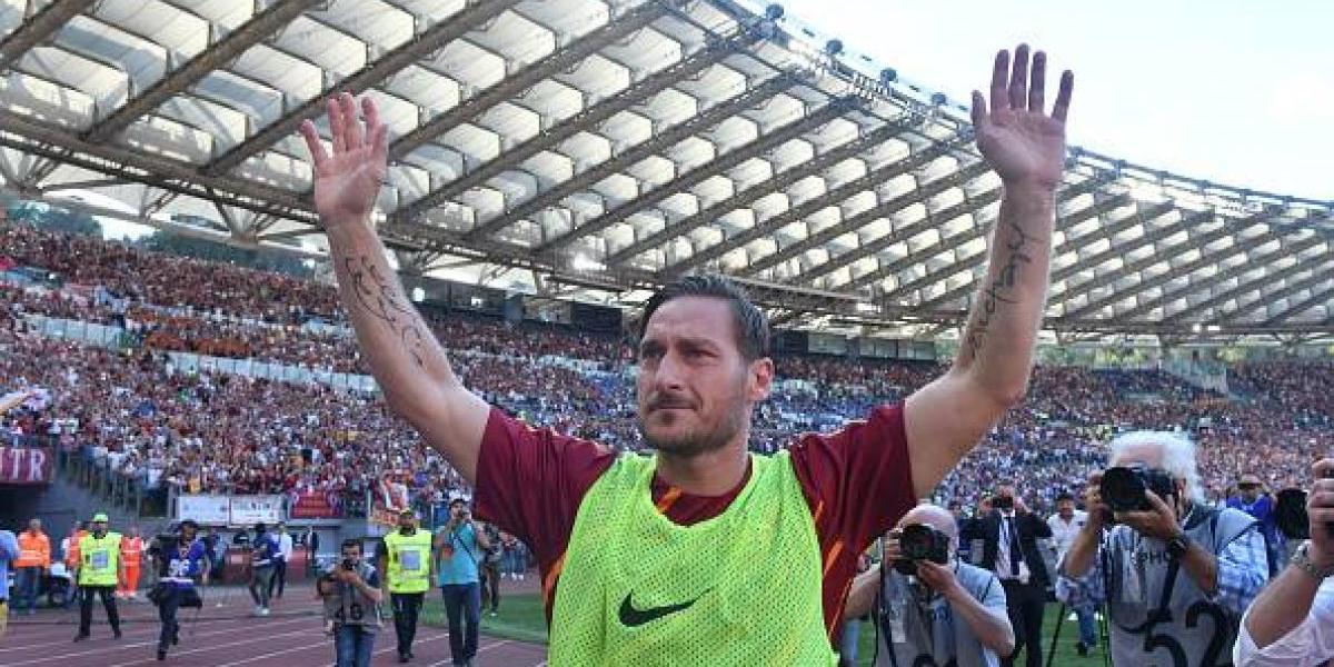 La Roma consiguió su pase a la Champions en la despedida de Totti