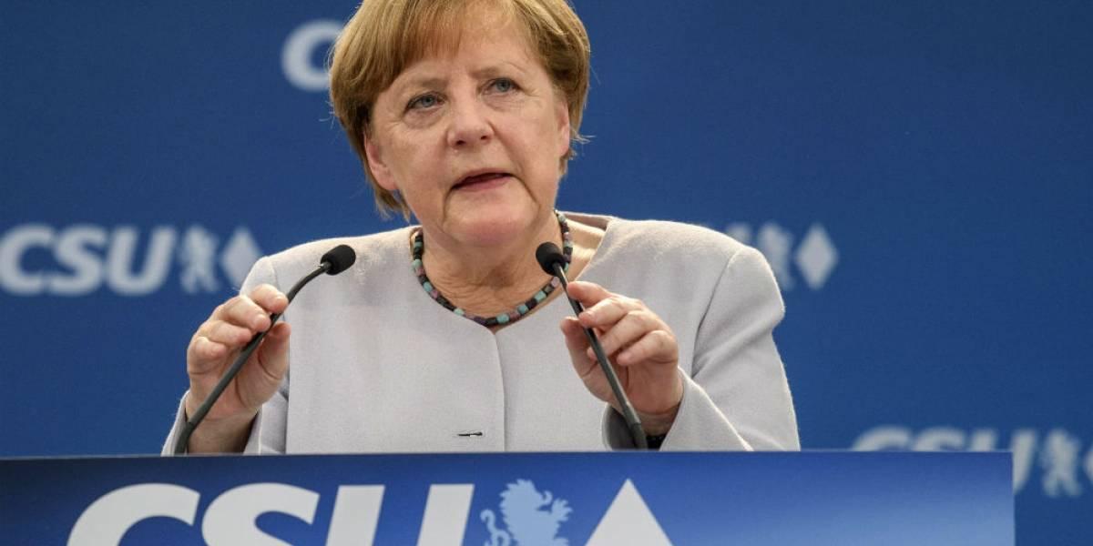 Merkel llama a la unidad de UE pese a divisiones con Estados Unidos y Gran Bretaña