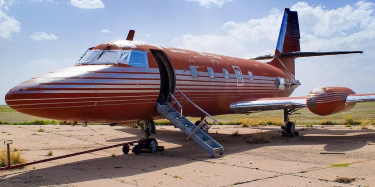 Subastan jet privado de Elvis Presley abandonado durante 35 años
