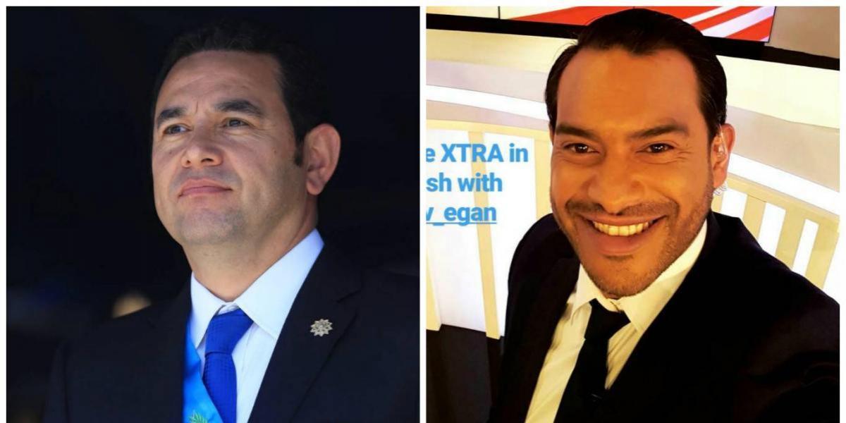 Así felicitan el presidente Morales y Carlos Ruiz, al nuevo campeón