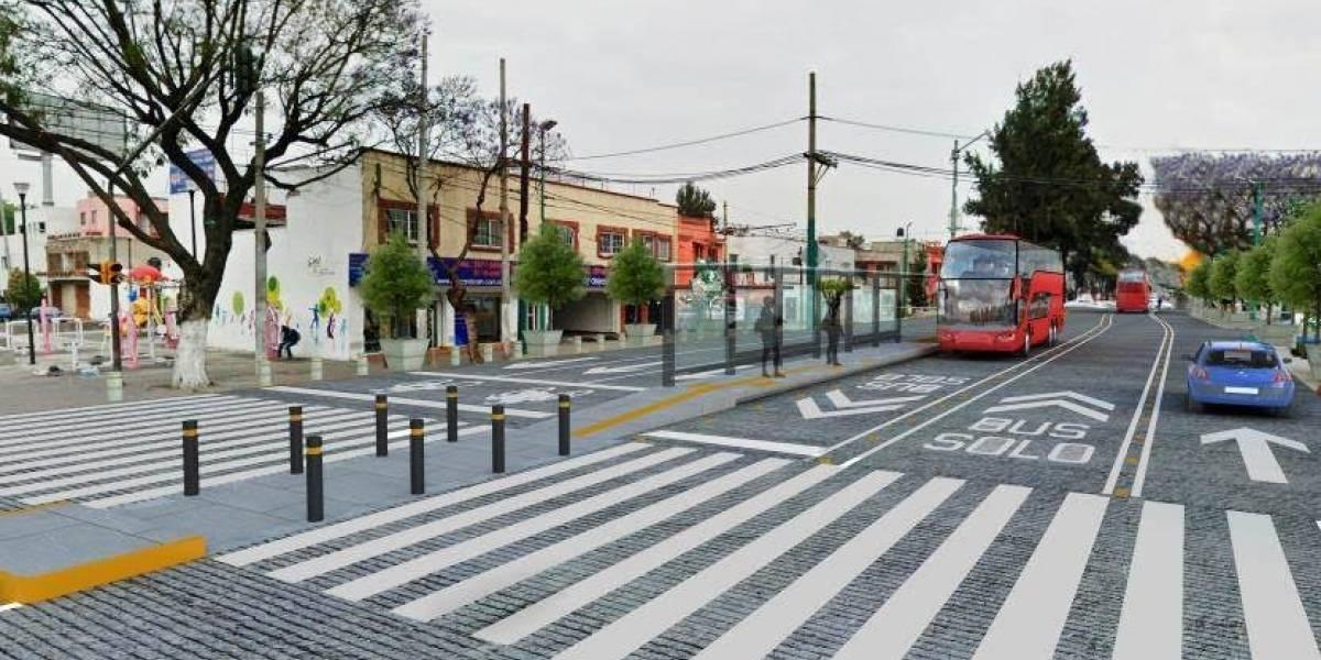 Línea 7 del Metrobús en Reforma se topa con oposición vecinal