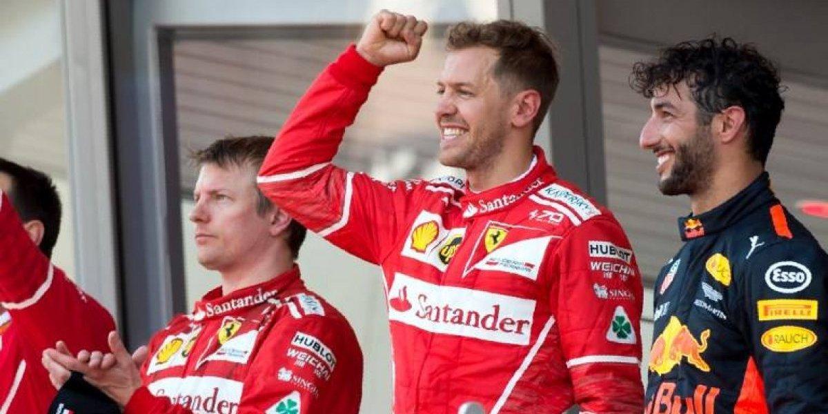 Vettel se impone en el Gran Premio de Mónaco