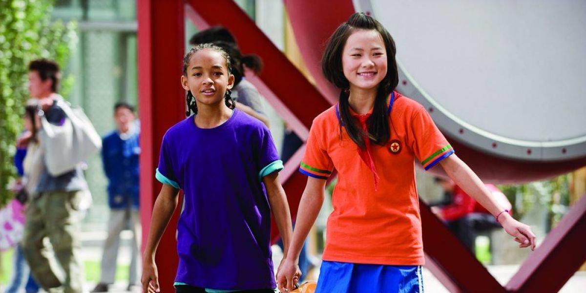 Así de hermosa está la amiga de Jaden Smith en Karate Kid y su notoria cirugía