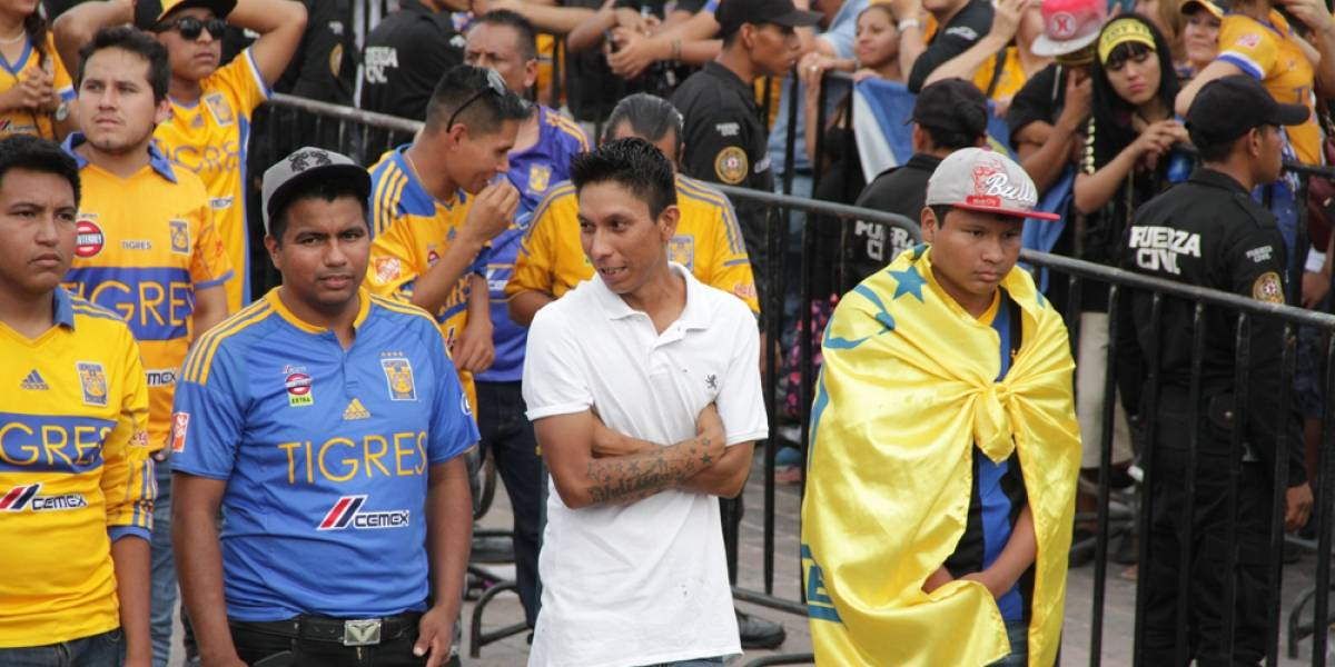 Se apaga el festejo en la Macroplaza para Tigres