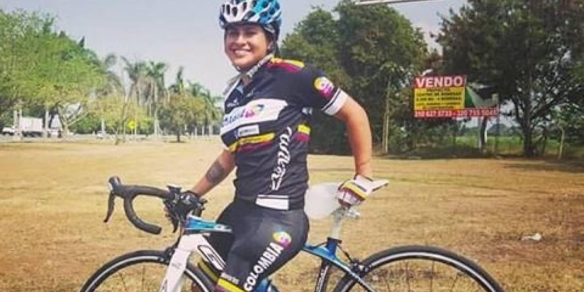 La ciclista paralímpica Yady Fernández sigue buscando la bicicleta que le robaron