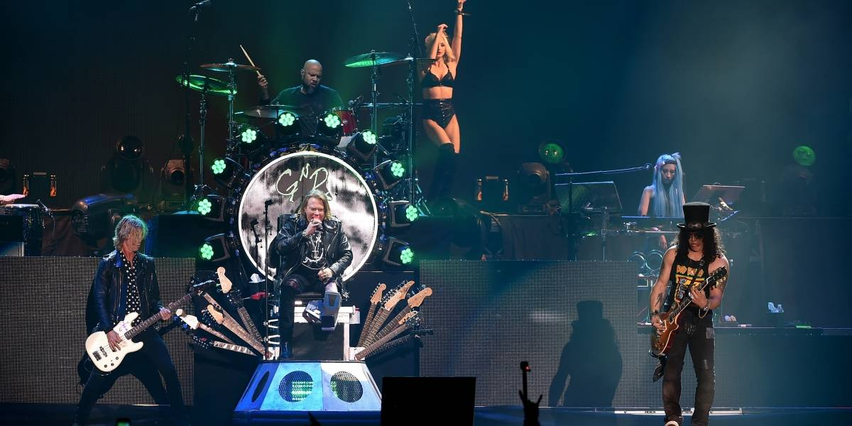 Así fue el emotivo homenaje de Guns N´ Roses a Chris Cornell