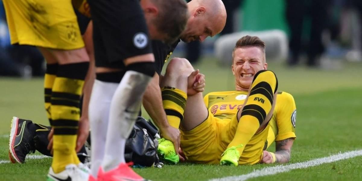 La maldición de Reus suma una nueva lesión que lo dejará fuera todo el 2017
