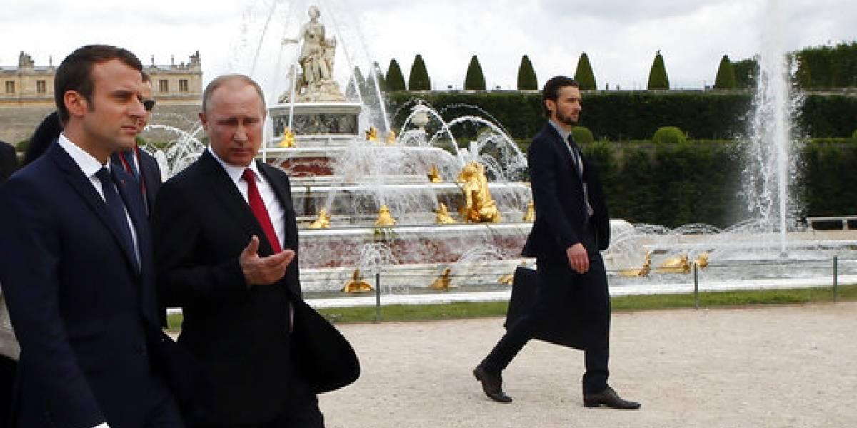 Macron discute con Putin sobre terrorismo y la situación en Siria