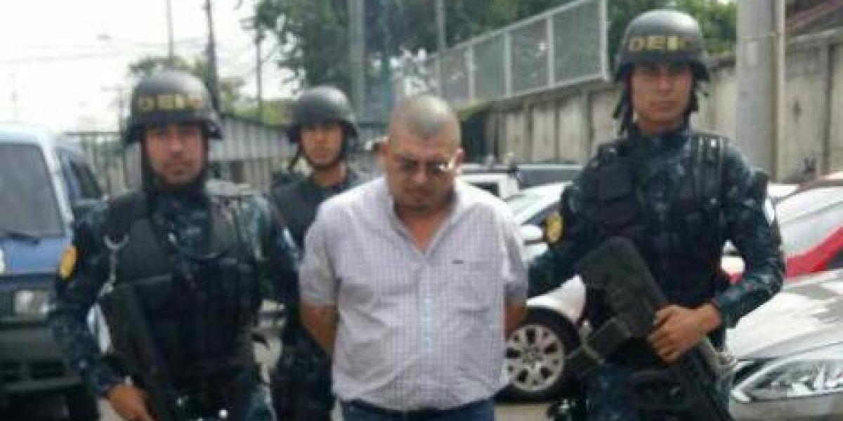 """Capturan a presunto líder de estructura criminal """"Los Canches"""""""