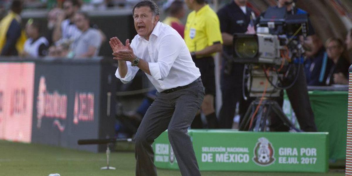 Juan Carlos Osorio afirmó que el título de Chivas es benéfico para el Tri