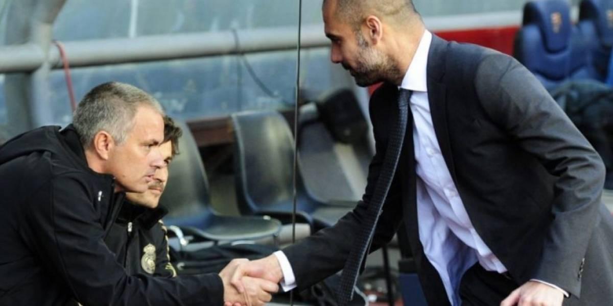 Las frases más ácidas entre Mourinho y Guardiola previo al clásico de Inglaterra