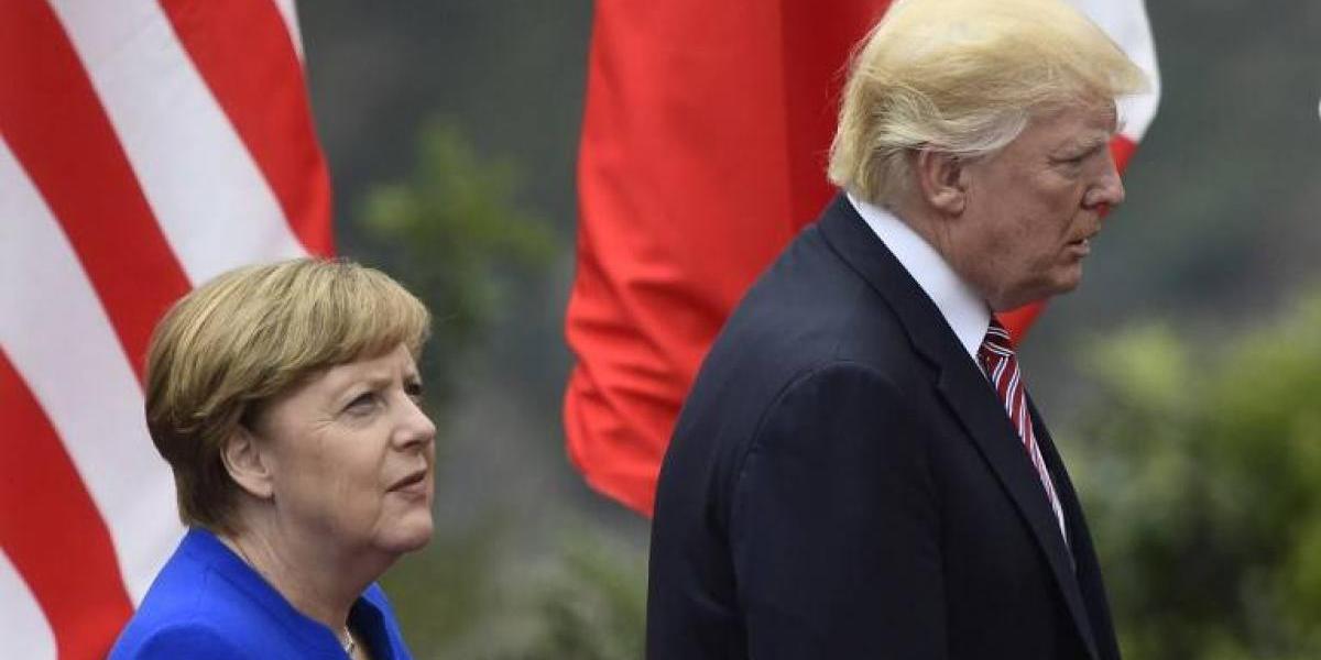 El efecto de Trump en Europa: Merkel llama a desconfiar de EEUU