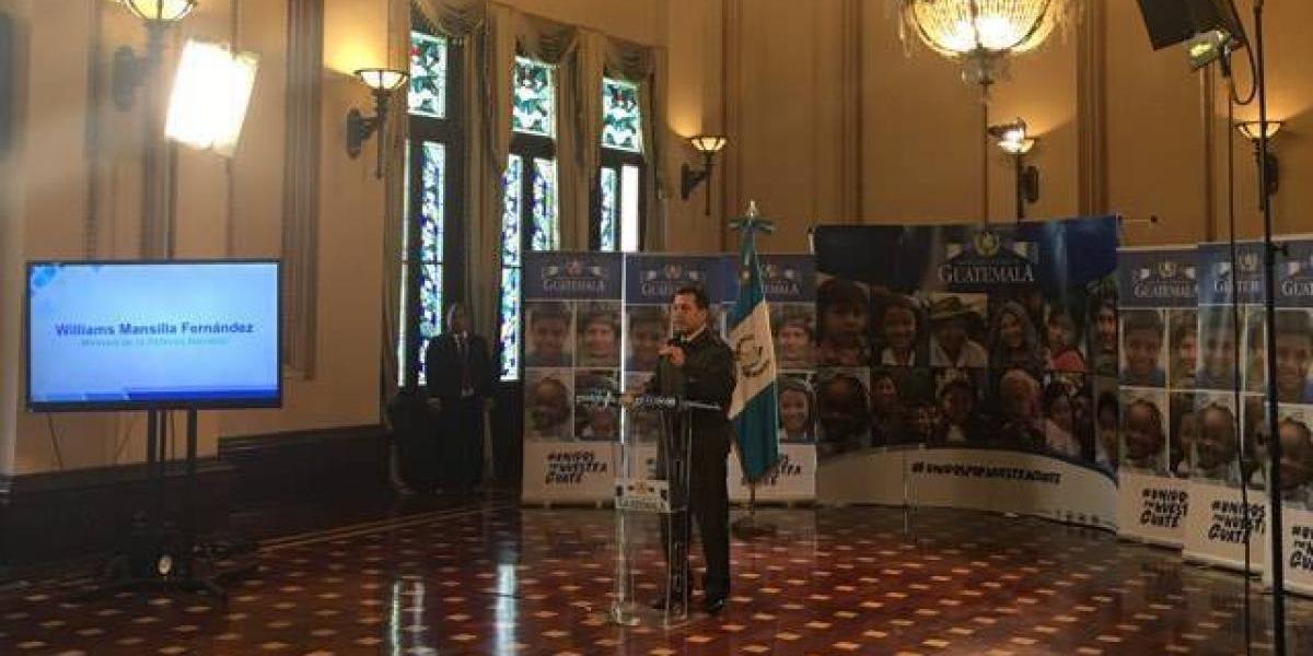 Ministro de la Defensa señala que hay avances importantes por estado de Sitio en Ixchiguán y Tajumulco