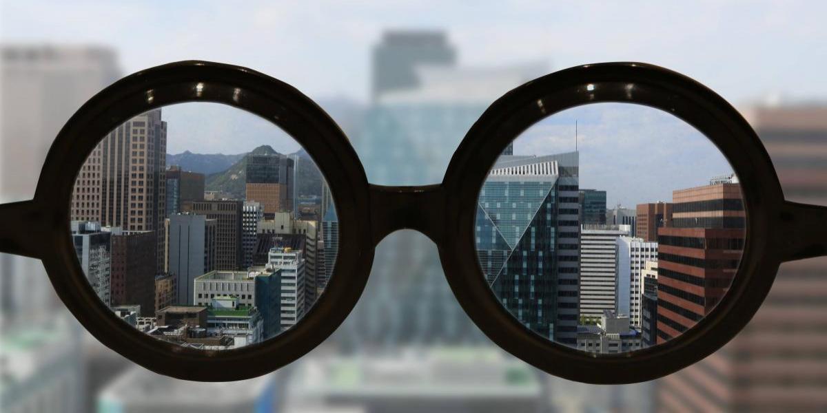 Así ve el mundo una persona con miopía