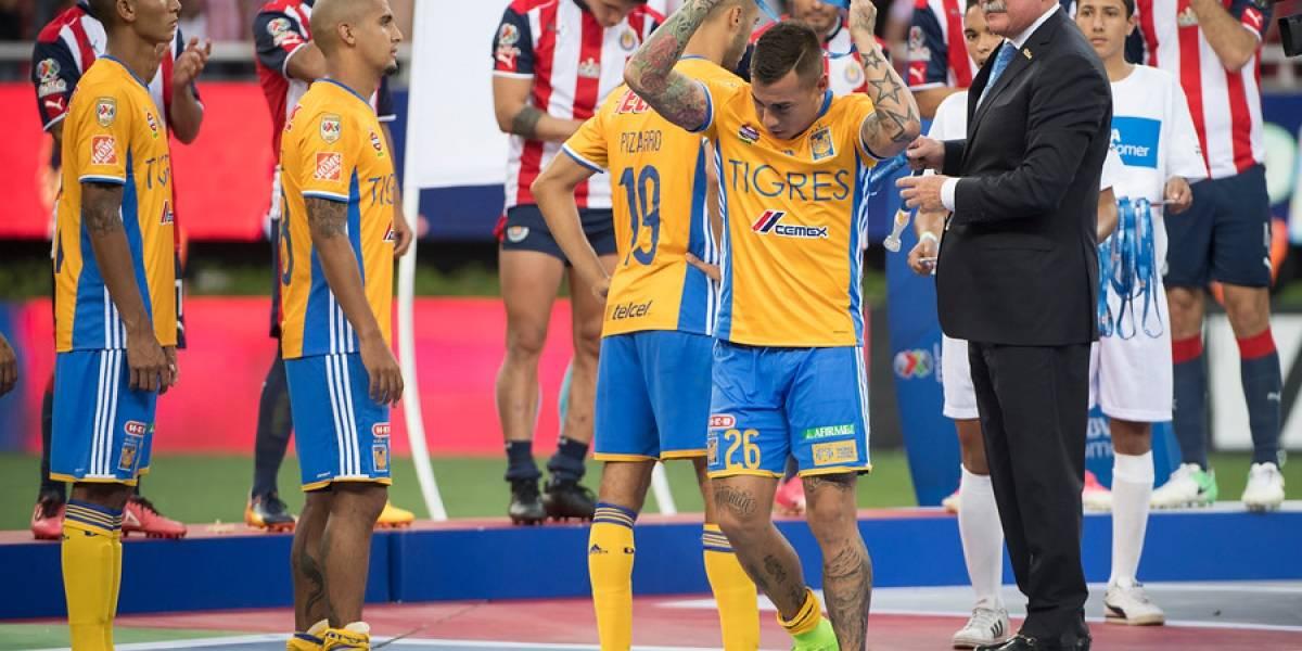 El momento de furia de Eduardo Vargas tras perder la final del Clausura mexicano