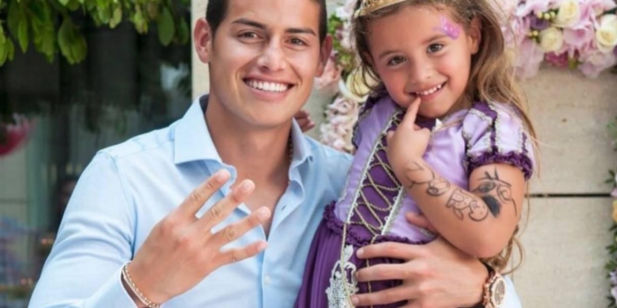 De lujo: Así fue la fiesta de cumpleaños de la hija de James Rodríguez