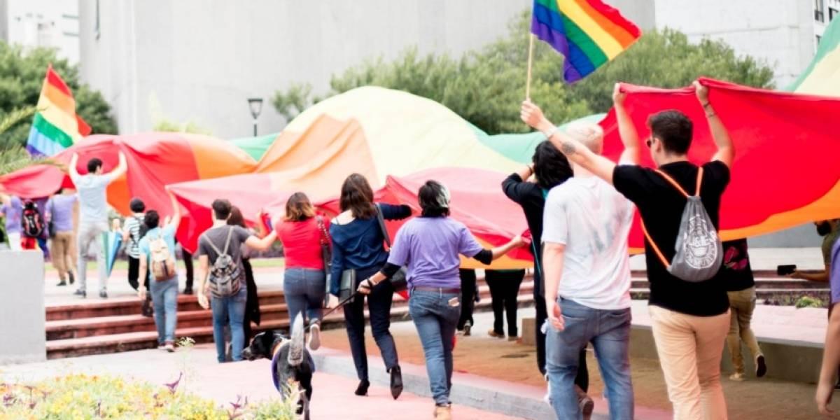 Agrupaciones LGBTTI marchan en Nuevo León contra declaraciones de El Bronco