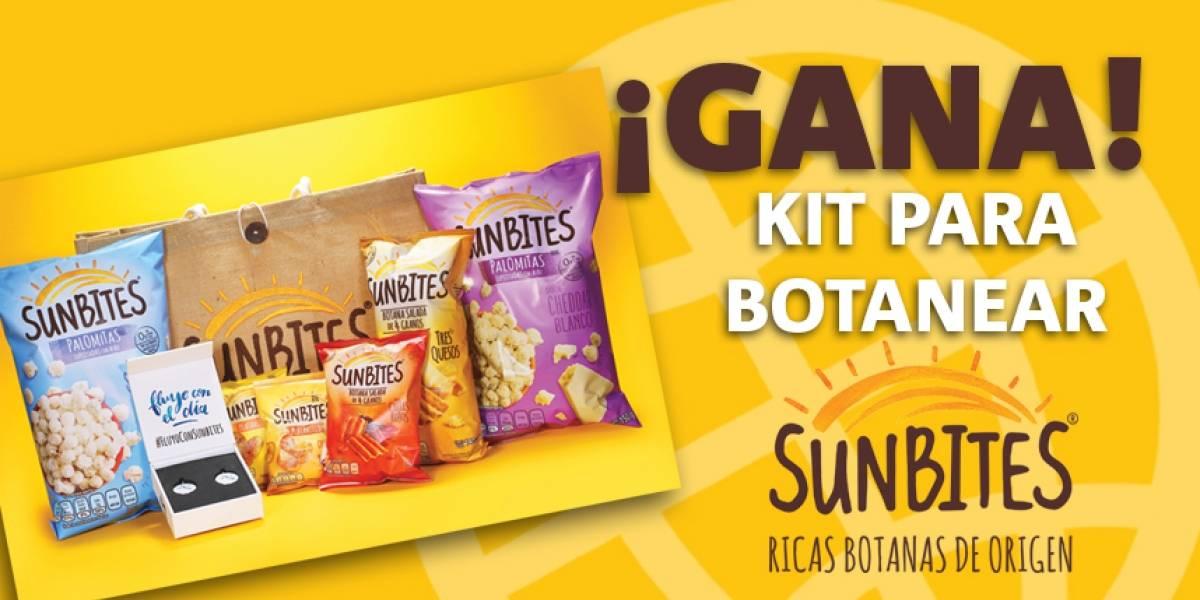 ¡Gana! kit para botanear