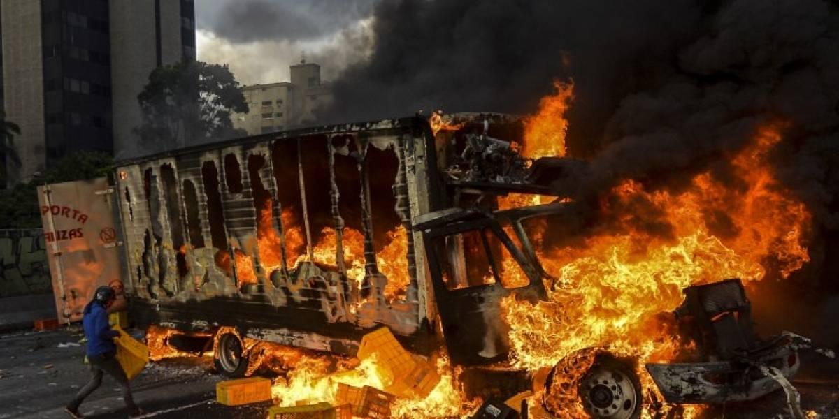 """Oposición de Venezuela amenaza con aumentar la """"presión"""" callejera contra Maduro"""