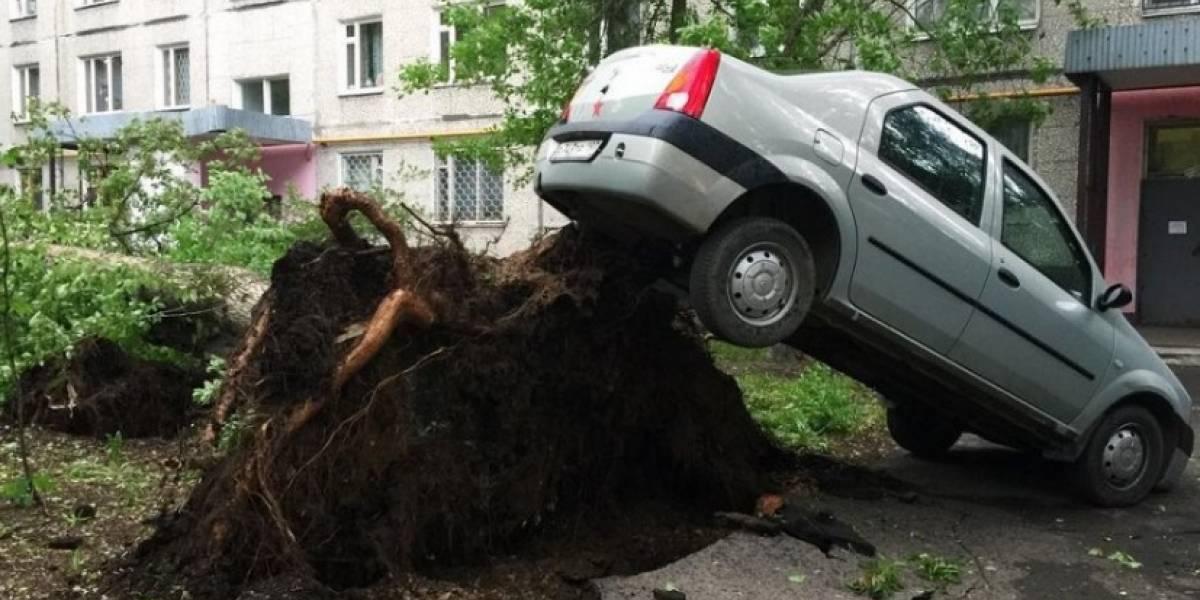 VIDEOS. Extraño fenómeno climático provoca desastres en Rusia