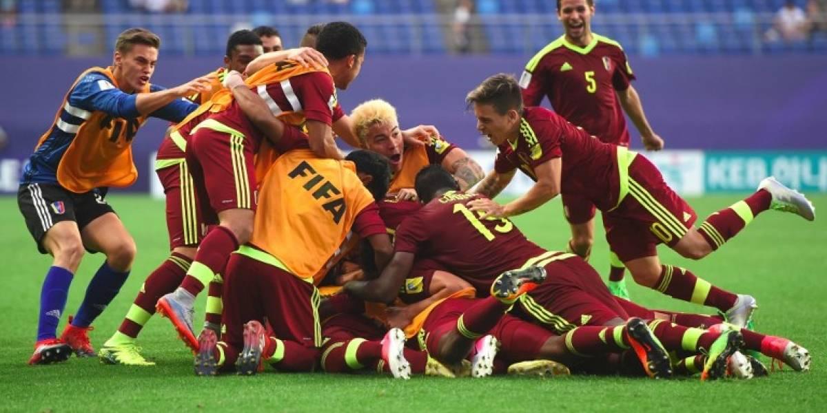 Venezuela da otro golpe en el Mundial Sub 20 al eliminar a Japón y meterse en cuartos de final