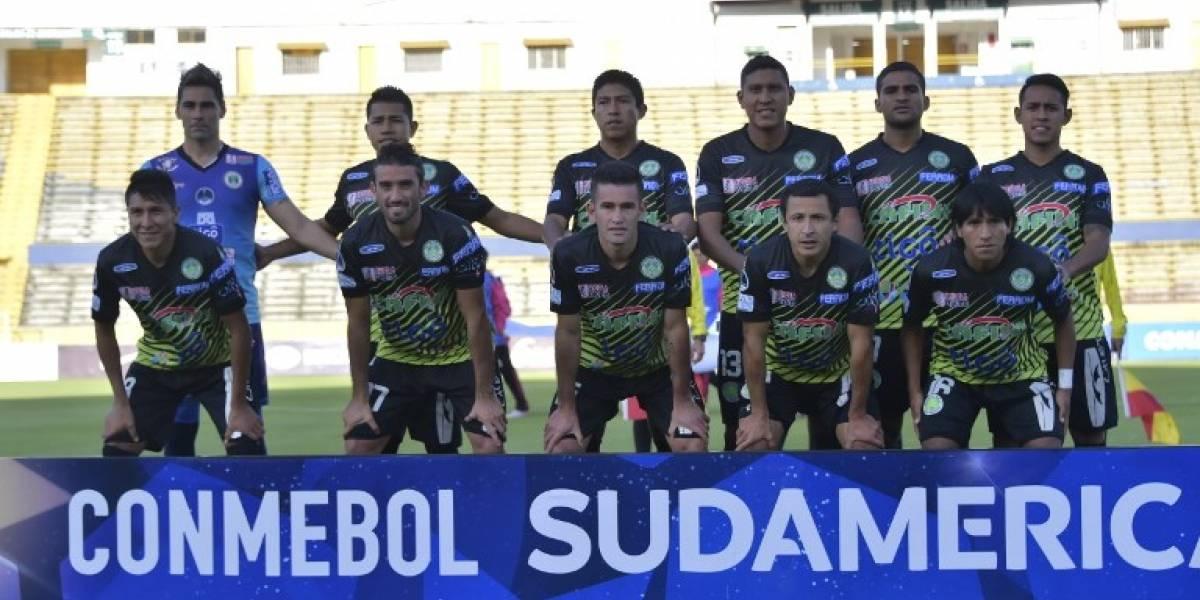 ¿Fútbol profesional? Equipo boliviano jugó en la Copa Sudamericana sin DT y tenía 13 jugadores disponibles