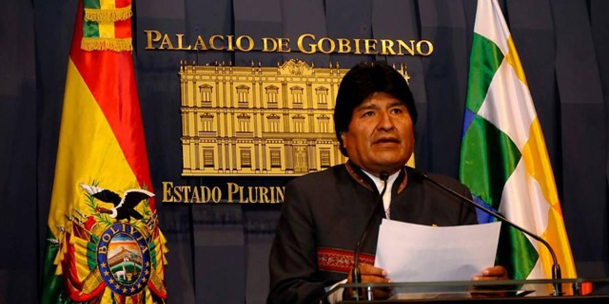 Evo Morales vuelve a pedir salida al mar tras difundir video por efectos del paro de Aduanas