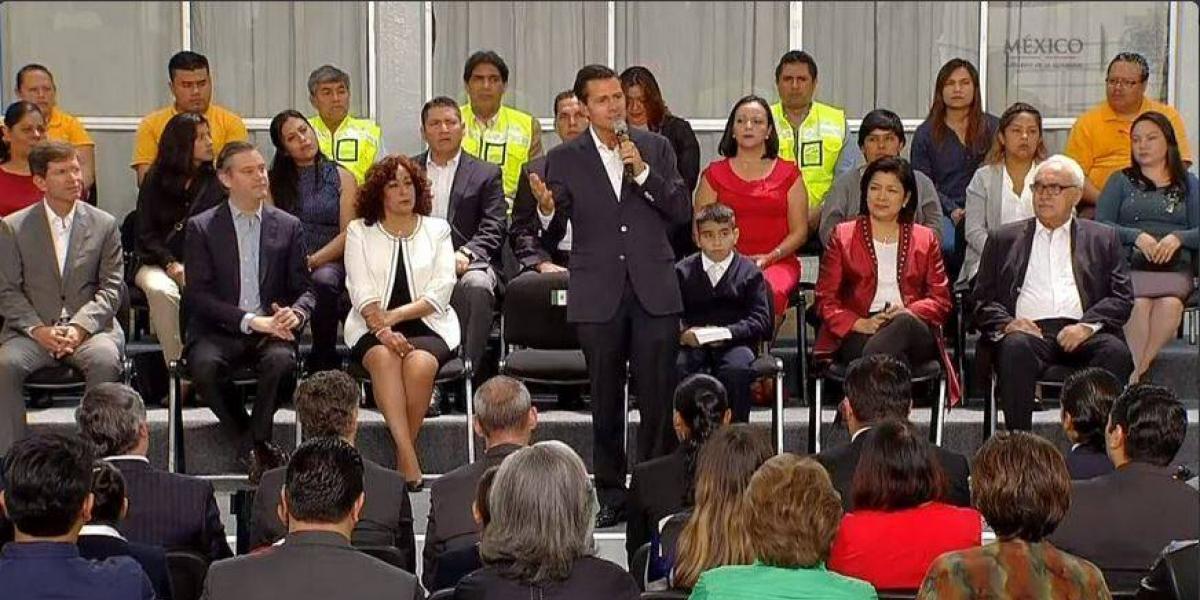 Triplica Peña Nieto inversión para mejorar infraestructura escolar durante su sexenio
