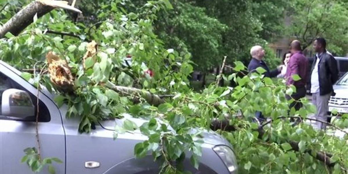 Potente tormenta deja 14 muertos en Moscú