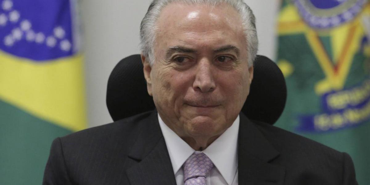 Brasil: Corte Suprema autoriza a la Policía Federal para interrogar al presidente Temer