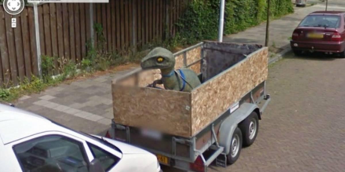 En los diez años de Google Street View las 20 imágenes más raras captadas por el mundo