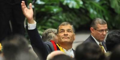 Rafael Correa llamó a no olvidar la lucha contra la corrupción