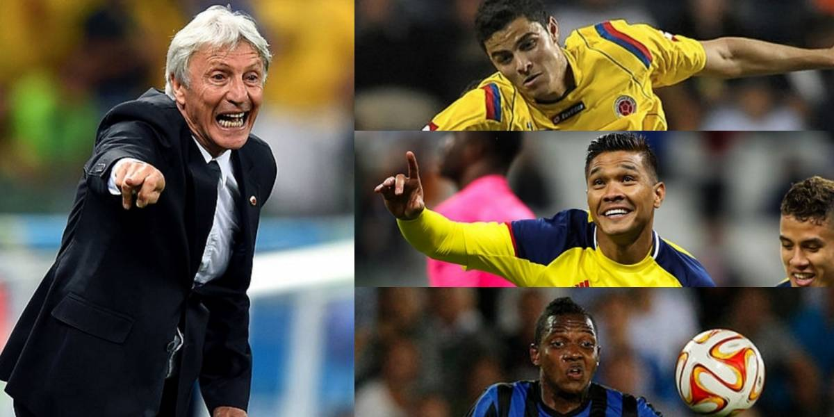 Estos son los números de 'Teo', 'Gio' e Izquierdo para llegar a la selección Colombia