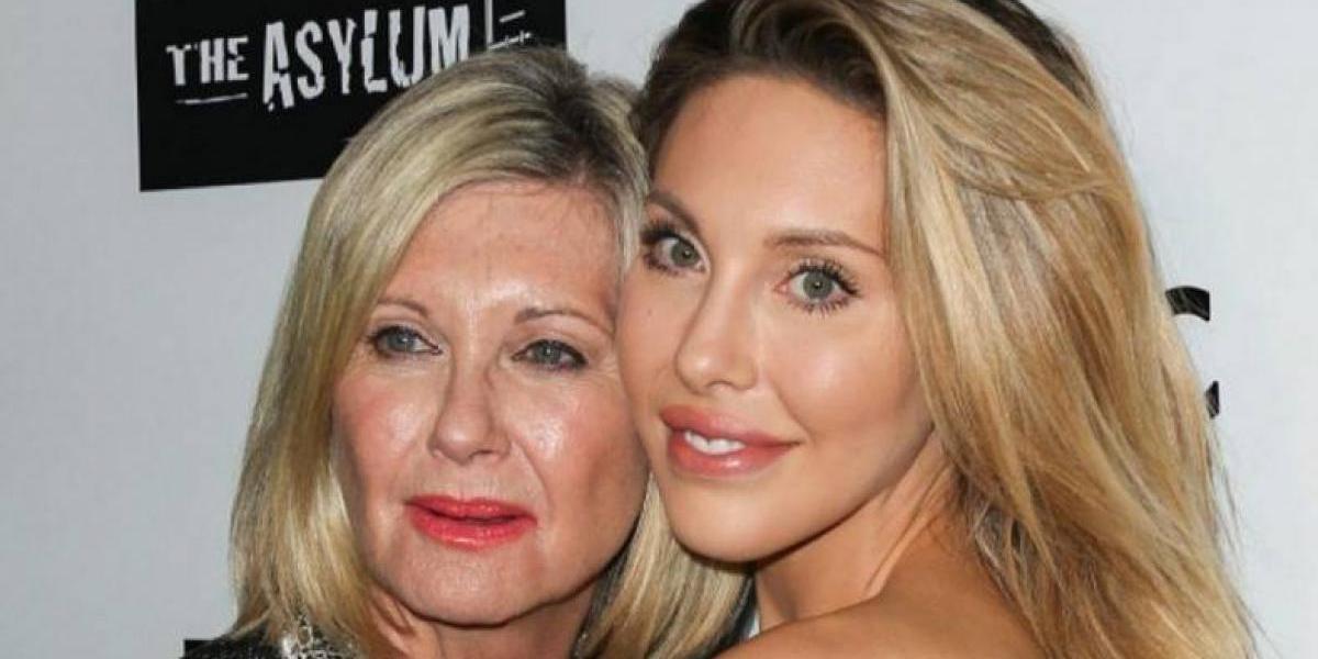 La verdad sobre la diminuta cintura de la hija de Olivia Newton-John