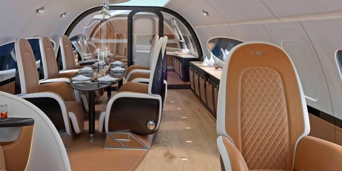"""Pagani """"cambia de rubro"""" y diseña una cabina de avión"""