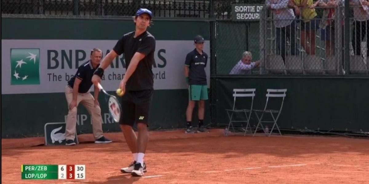 Peralta y Zeballos dieron el golpe y eliminaron a los campeones defensores de Roland Garros