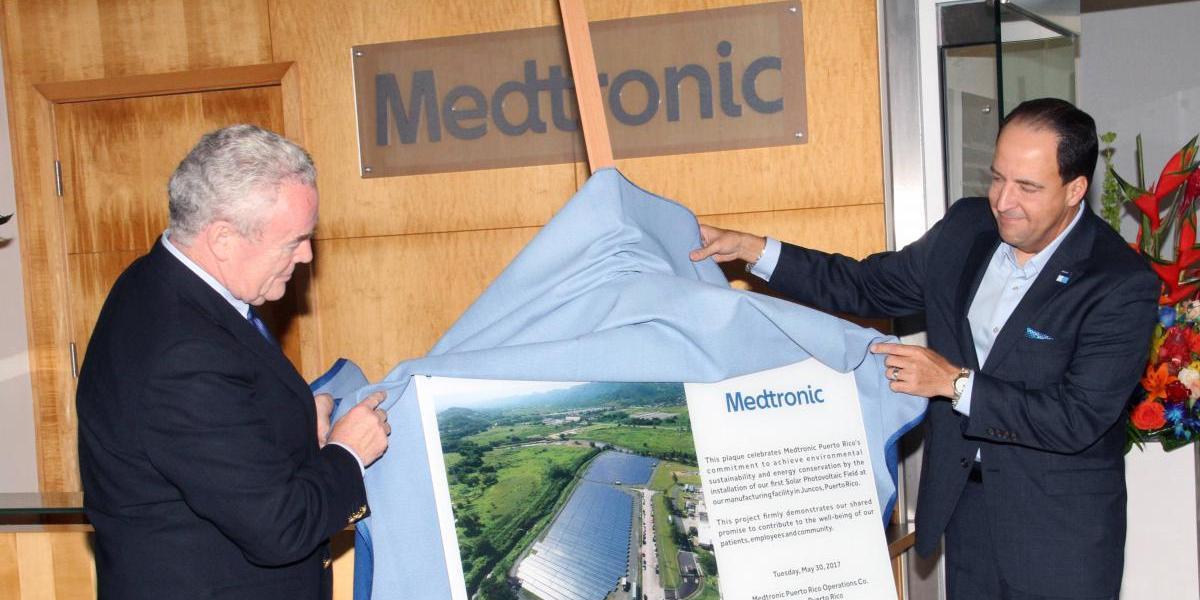 Inauguran proyecto de 18 mil placas fotovoltaicas en Juncos