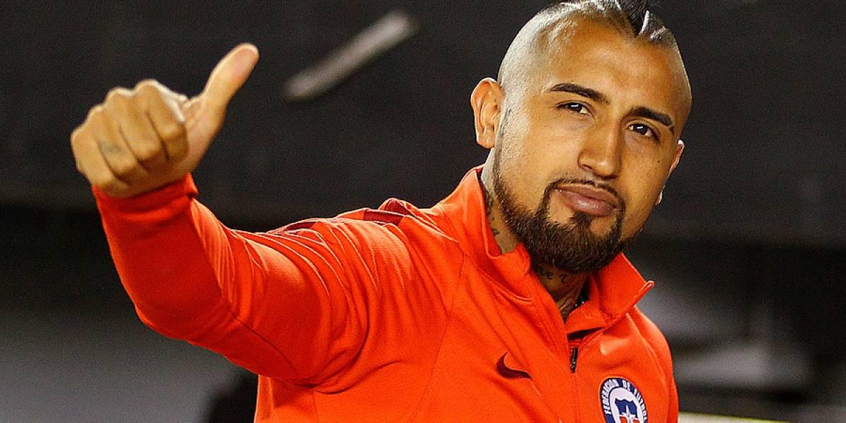"""Vidal llegó a Chile prometiendo título: """"Le dije a mi mujer e hijos que iba a volver con la copa"""""""