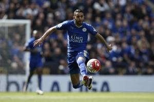 Riyad Mahrez, jugador del Leicester City