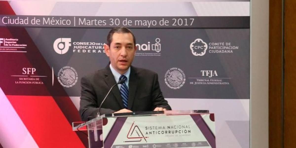 Nombran a Ricardo Salgado secretario del Sistema Nacional Anticorrupción