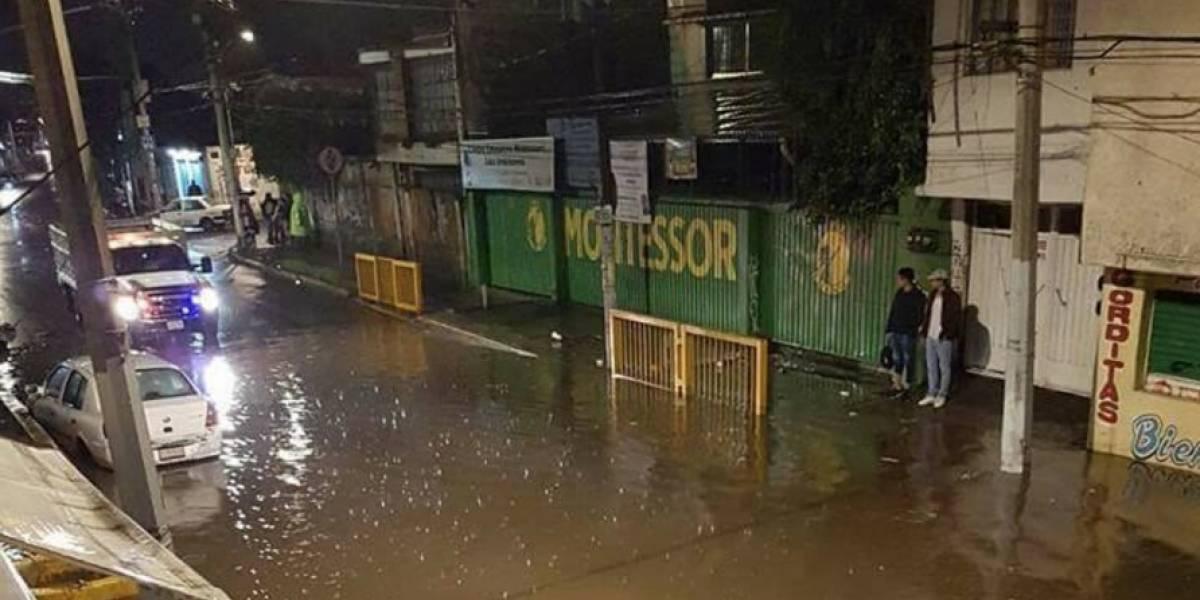 FOTOS: Estos fueron los daños que dejó la lluvia de este lunes en la CDMX