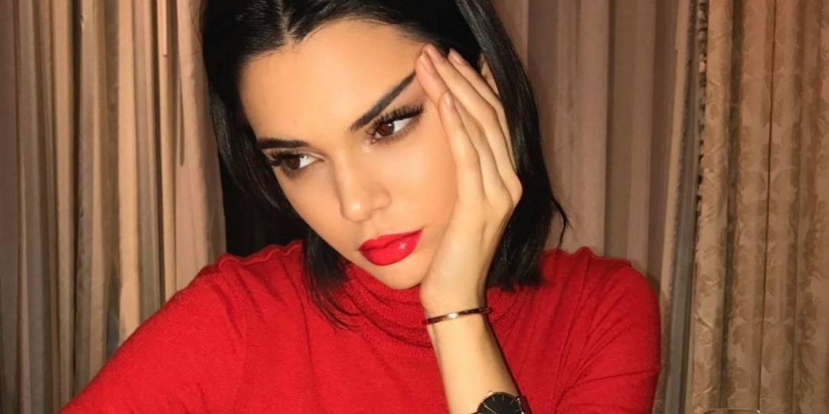 Kendall Jenner presume su trasero al estilo Kim Kardashian