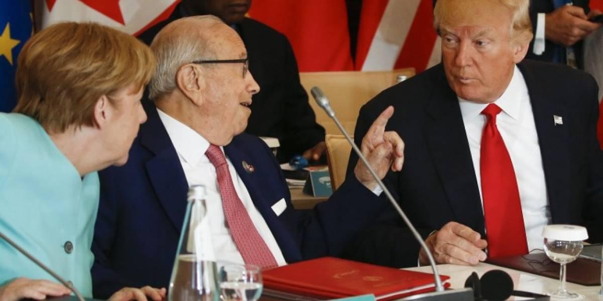 Trump fustiga a Alemania por relación comercial